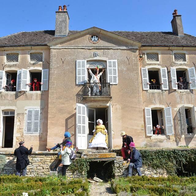« Le Parcours des Tréteaux » in Pernand-Vergelesses