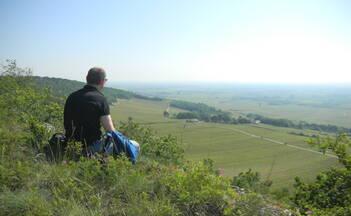 Wandern in Meursault