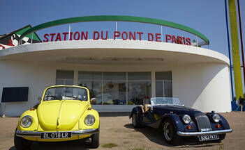 La Nationale 6 « Route des vacances » en Bourgogne