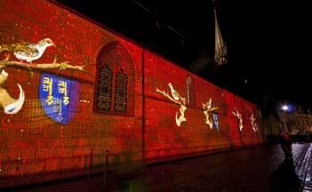 Les Chemins de Lumières de Beaune - L'Hôtel-Dieu © Mairie de Beaune