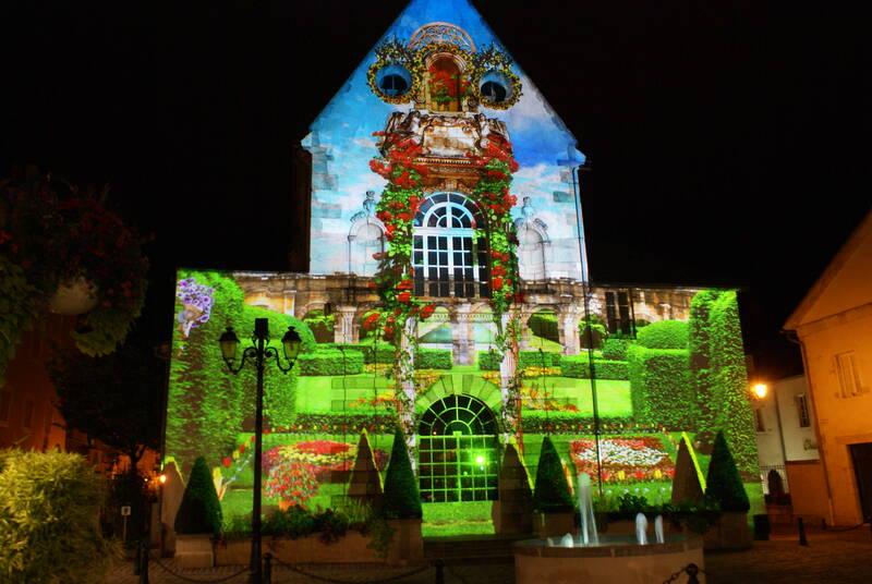 Les Chemins de Lumières de Beaune - La Chapelle Saint-Etienne © Gilles Brebant