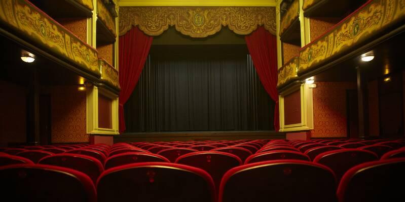Théâtre des Copiaus vue du parterre © Studio Piffaut