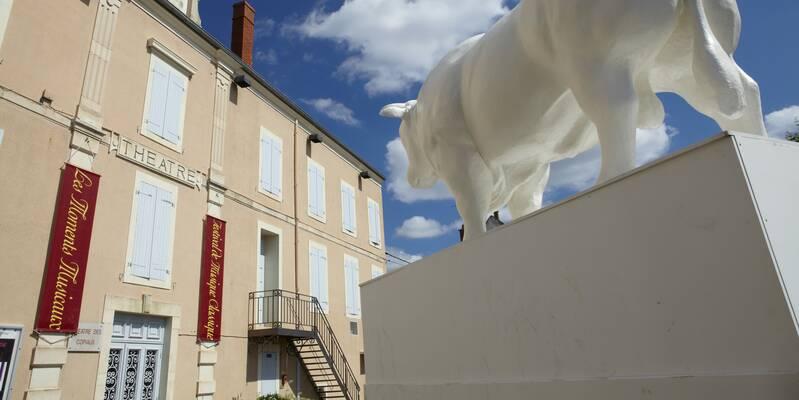 Théâtre des Copiaus vue extérieure © Studio Piffaut