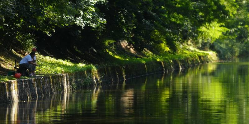 Canal du centre-Pêche ©StudioPiffaut