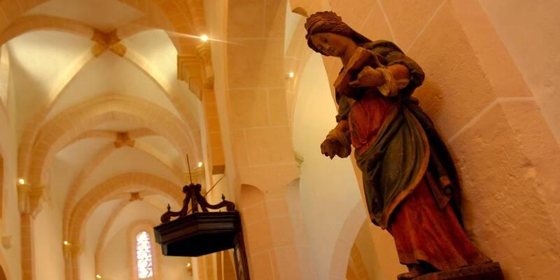 détail de l'église Saint-Jean-de-Narosse © Beaune Tourisme