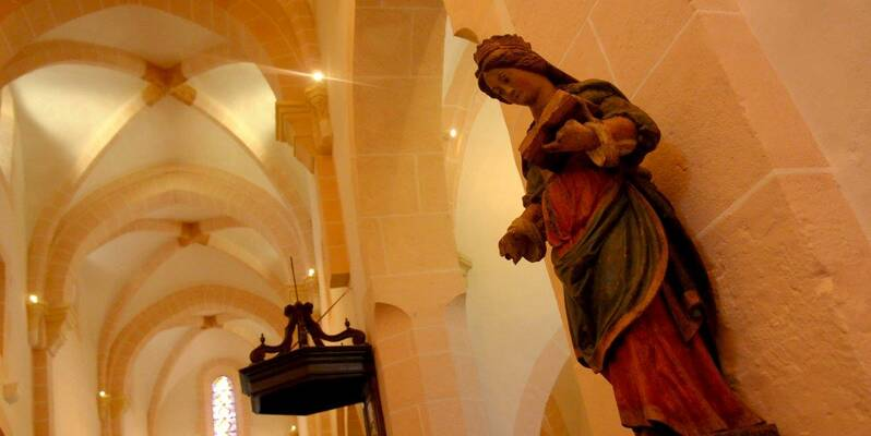 Eglise Saint Jean de Narosse - Statue