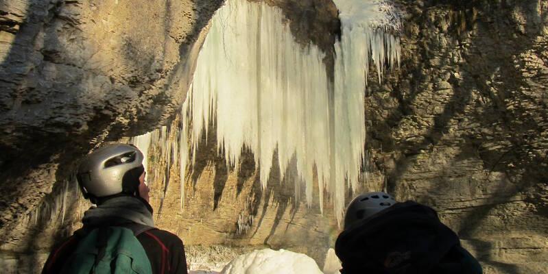 Bout du Monde-Cascade glacée-Hiver