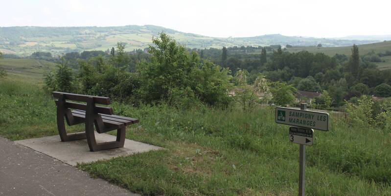 Die Sitzbänke