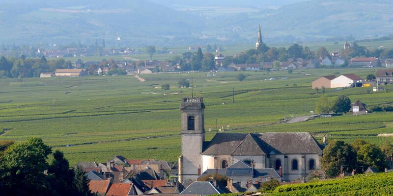 Dorf Pommard