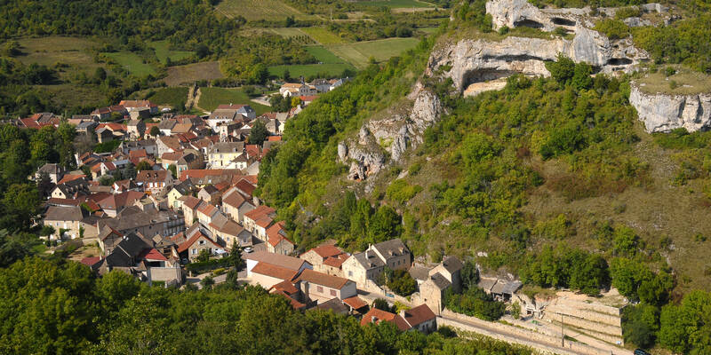 Saint-Romain, route des grands crus