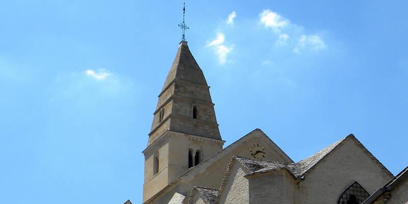 Die Kirche von Saint Aubin © Thierry Manuel