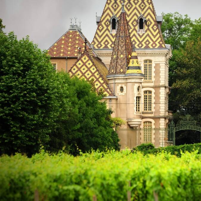 Schloss von Corton André