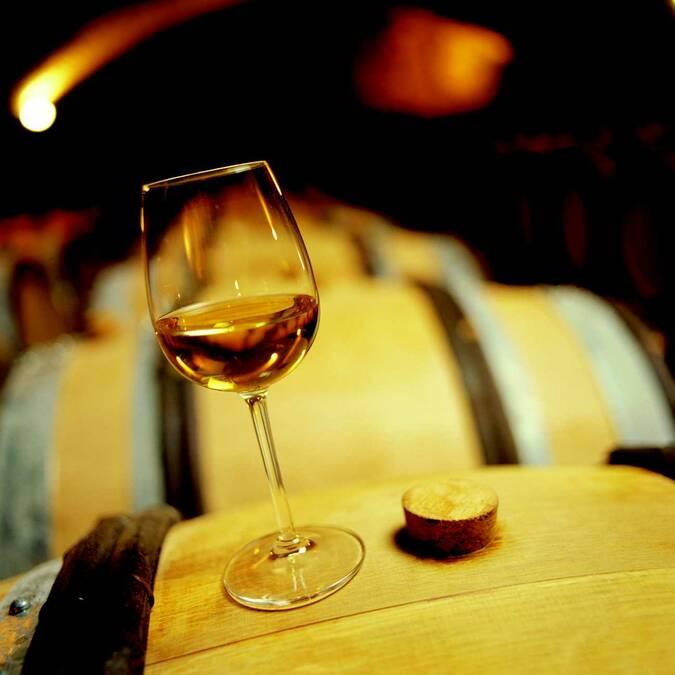 Weinprobe vom Fass