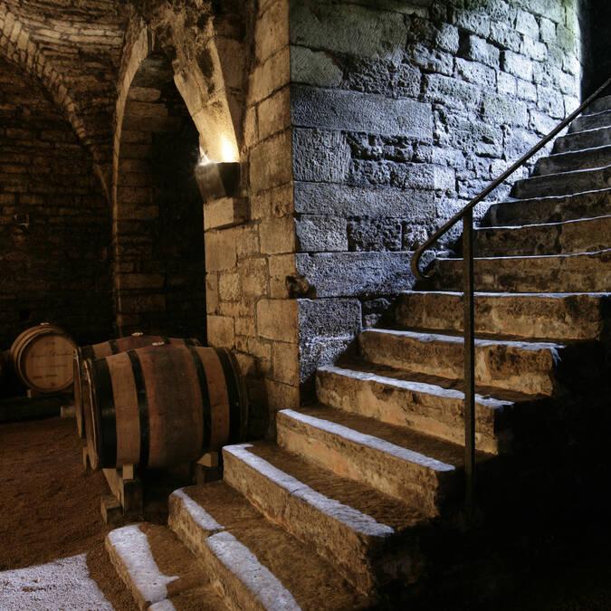 Historische Weinkeller der Maison Drouhin © Maison Joseph Drouhin