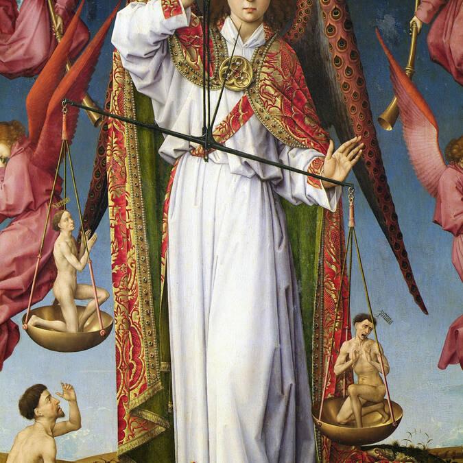 """Altarbild """"Jüngstes Gericht"""" - Detail"""