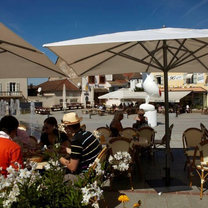 En terrasse à Chagny